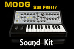 Thumbnail Moog Sub Phatty sound kit .wav-kontakt-Logic-reasons