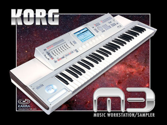 Product picture Korg M3 sound library .wav  2.GB