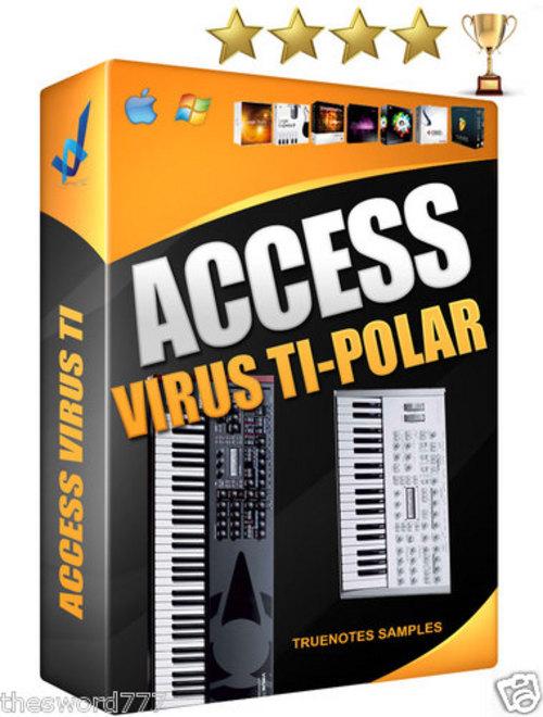 Product picture ACCESS  VIRUS SOUND KIT wav 850 sounds REASON NKI LOGIC