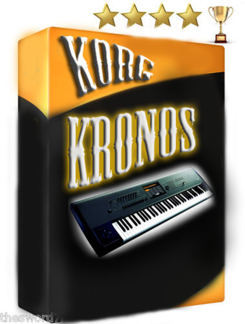 Product picture Korg Kronos Sound Samples Wav- Logic-NN-XT