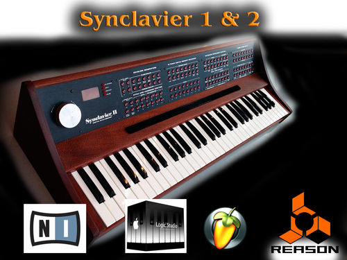 Product picture Synclavier 1 & 2 Sound samples Wav