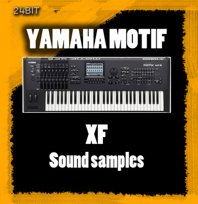 Product picture YAMAHA MOTIF XF SOUND SAMPLES FOR KONTAKT 5.GB